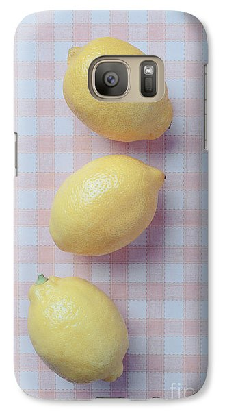Three Lemons Galaxy Case by Edward Fielding