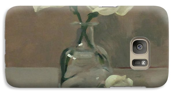 Three Roses In A Tequila Bottle Galaxy S7 Case