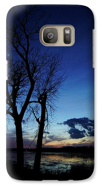 Galaxy Case featuring the photograph Three Sisters by Cricket Hackmann