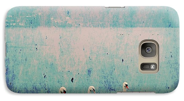 Three Swans Galaxy S7 Case by Joana Kruse