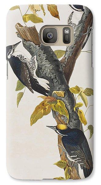 Three Toed Woodpecker Galaxy S7 Case