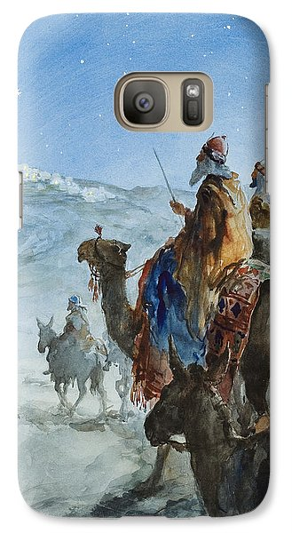 Three Wise Men Galaxy S7 Case by Henry Collier