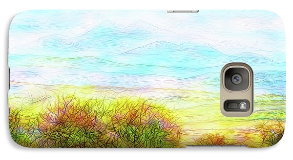 Through Mountain Mists Galaxy S7 Case by Joel Bruce Wallach