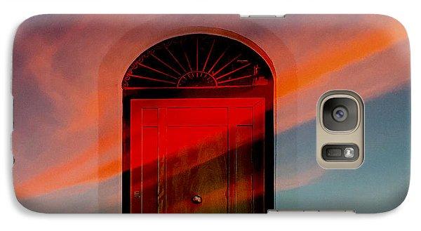 Galaxy Case featuring the digital art Through The Door by Katy Breen