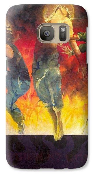 Through The Fire Galaxy S7 Case