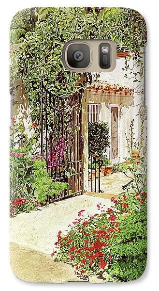 Through The Garden Gate Galaxy S7 Case