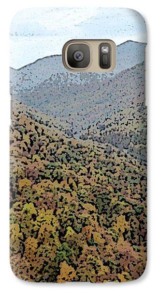 Galaxy Case featuring the photograph Through The Mountains by Skyler Tipton
