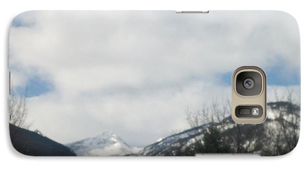 Galaxy Case featuring the photograph Through The Pass by Jewel Hengen