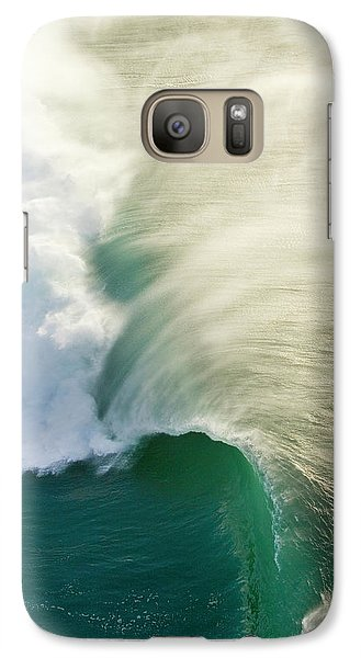 Helicopter Galaxy S7 Case - Thunder Curl by Sean Davey