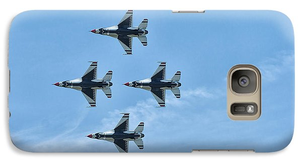 Galaxy Case featuring the photograph Thunderbirds by Linda Constant