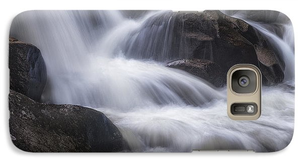 Galaxy Case featuring the photograph Thundering River by Tim Reaves