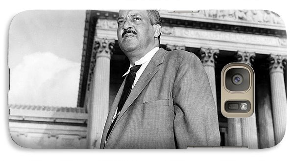 Washington D.c Galaxy S7 Case - Thurgood Marshall by Granger