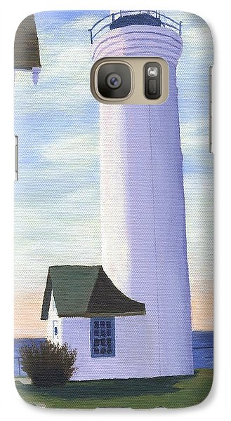 Galaxy Case featuring the painting Tibbett's Point by Lynne Reichhart