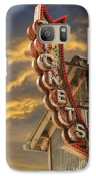Galaxy Case featuring the photograph Tickets  by Laura Fasulo