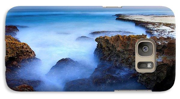 Kangaroo Galaxy S7 Case - Tidal Bowl Boil by Mike  Dawson