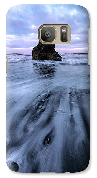 Galaxy Case featuring the photograph Tidal Dance II by Mike Lang