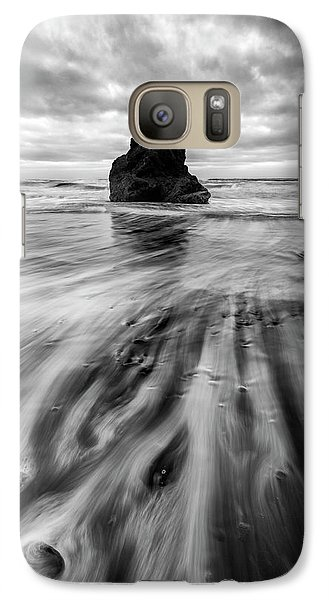 Galaxy Case featuring the photograph Tidal Dance by Mike Lang
