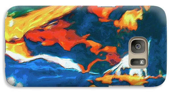Galaxy Case featuring the painting Tidal Forces by Dominic Piperata