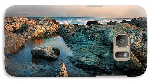 Galaxy Case featuring the photograph Tide Pool by Robin-Lee Vieira