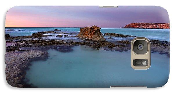 Kangaroo Galaxy S7 Case - Tidepool Dawn by Mike  Dawson