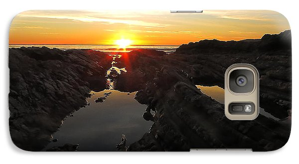 Galaxy Case featuring the photograph Tidepools by Paul Foutz