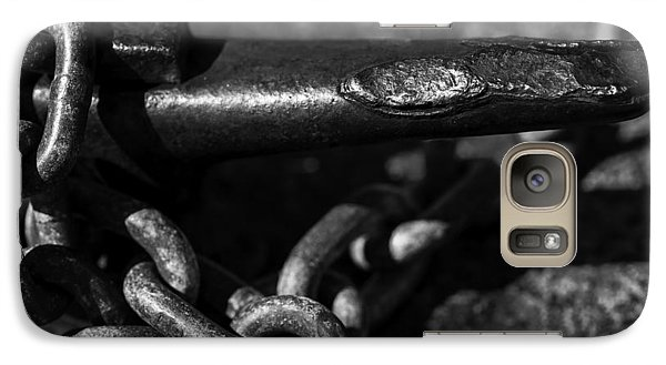 Galaxy Case featuring the photograph Tied Down by Jason Moynihan