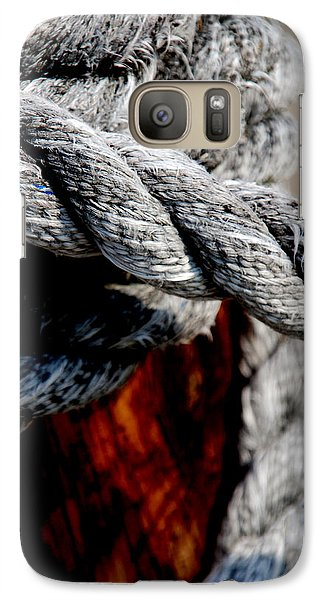 Galaxy Case featuring the photograph Tied Together by Susanne Van Hulst