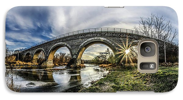 Tiffany Bridge Panorama Galaxy S7 Case