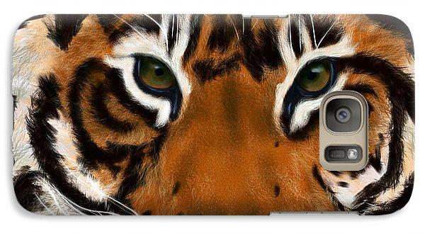 Tiger Eyes Galaxy S7 Case