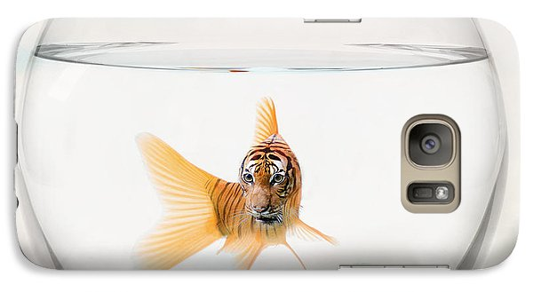 Catfish Galaxy S7 Case - Tiger Fish by Juli Scalzi