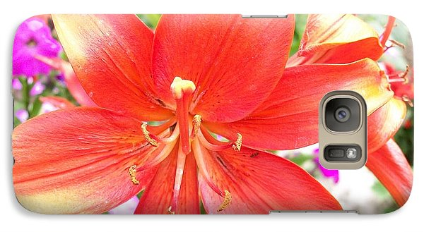 Galaxy Case featuring the photograph Tiger Lily by Sharon Duguay
