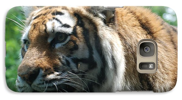 Galaxy Case featuring the photograph Tiger Profile by Richard Bryce and Family