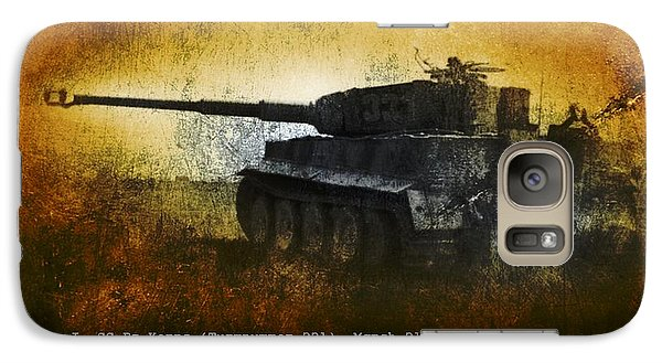 Galaxy Case featuring the digital art Tiger Tank by John Wills