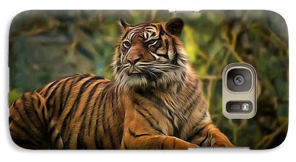 Galaxy Case featuring the photograph Tigers Beauty by Scott Carruthers