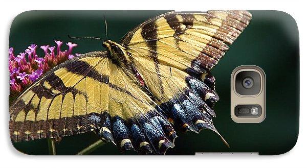 Galaxy Case featuring the photograph Tigress And Verbena by Byron Varvarigos