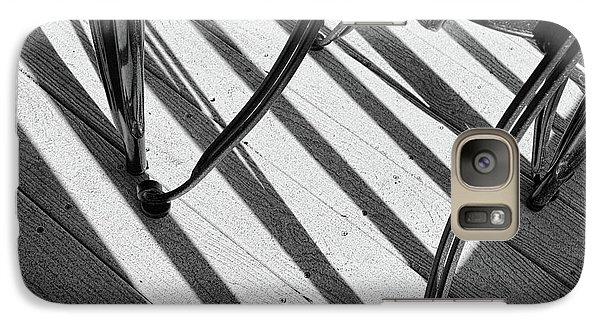 Galaxy Case featuring the photograph Tilt Black And White Photography by Ann Powell