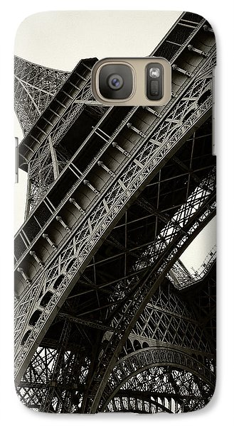 Galaxy Case featuring the photograph Tilted Eiffel by Stefan Nielsen