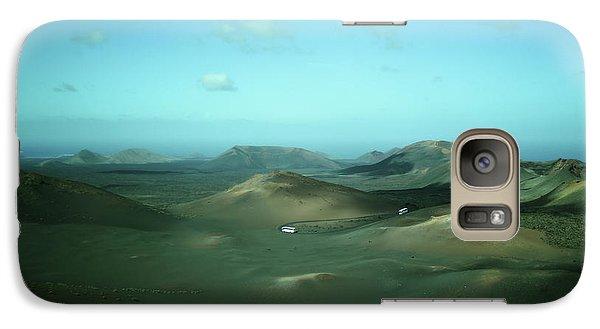 Timanfaya - Lanzarote Galaxy S7 Case by Cambion Art