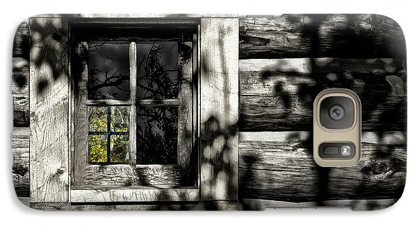Galaxy Case featuring the photograph Timber Hand-crafted by Brad Allen Fine Art