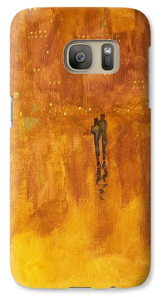 Galaxy Case featuring the painting Time And Again #2 by Raymond Doward