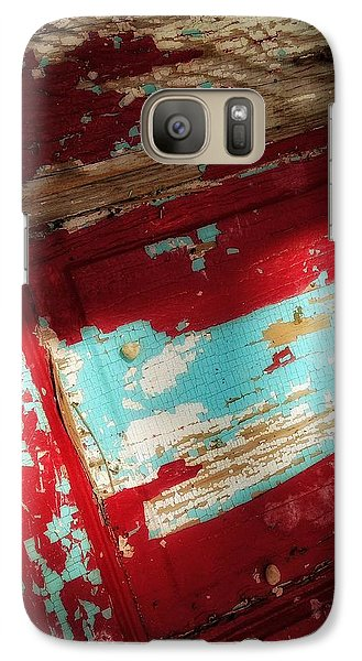Galaxy Case featuring the photograph Time At The Door by Olivier Calas