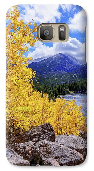 Galaxy Case featuring the photograph Time by Chad Dutson