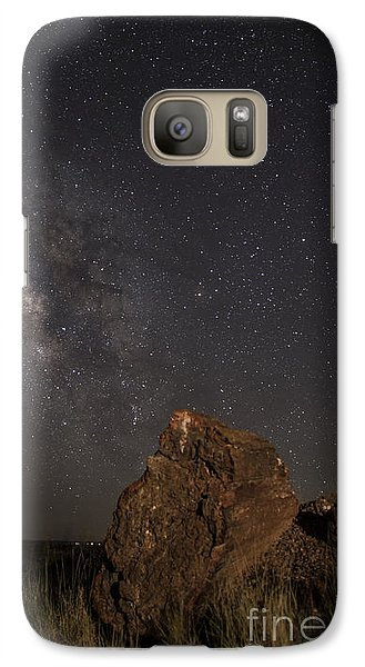 Galaxy Case featuring the photograph Time by Melany Sarafis