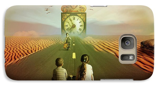 Galaxy Case featuring the digital art Time To Grow Up by Nathan Wright