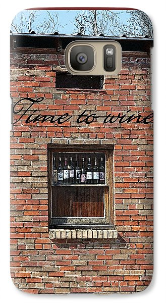 Galaxy Case featuring the photograph Time To Wine by Ellen O'Reilly