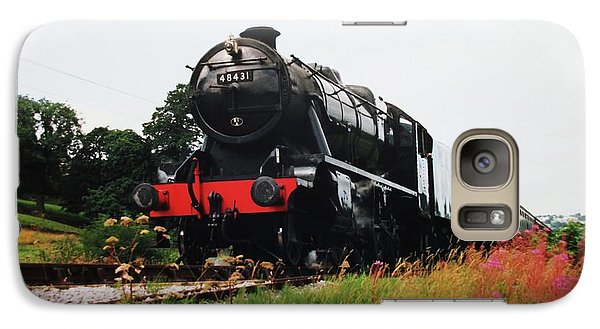 Galaxy Case featuring the photograph Time Travel By Steam by Martin Howard