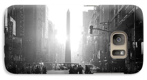 Galaxy Case featuring the photograph Timeless Buenos Aires by Bernardo Galmarini