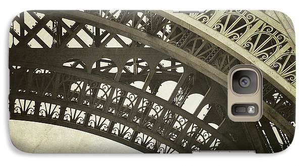 Galaxy Case featuring the photograph Timeless - Vintage Paris Eiffel Tower Photography by Melanie Alexandra Price