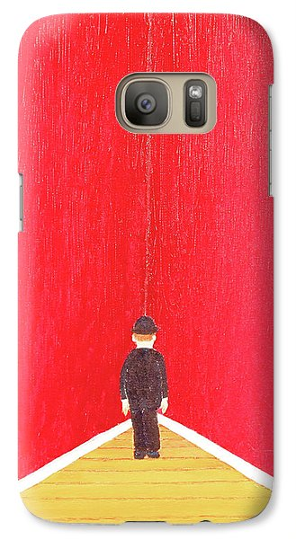 Galaxy Case featuring the painting Timeout by Thomas Blood