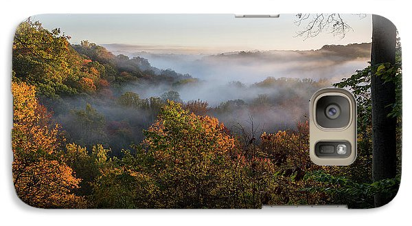 Galaxy Case featuring the photograph Tinkers Creek Gorge Overlook by Dale Kincaid